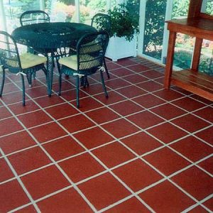 Square terra tile