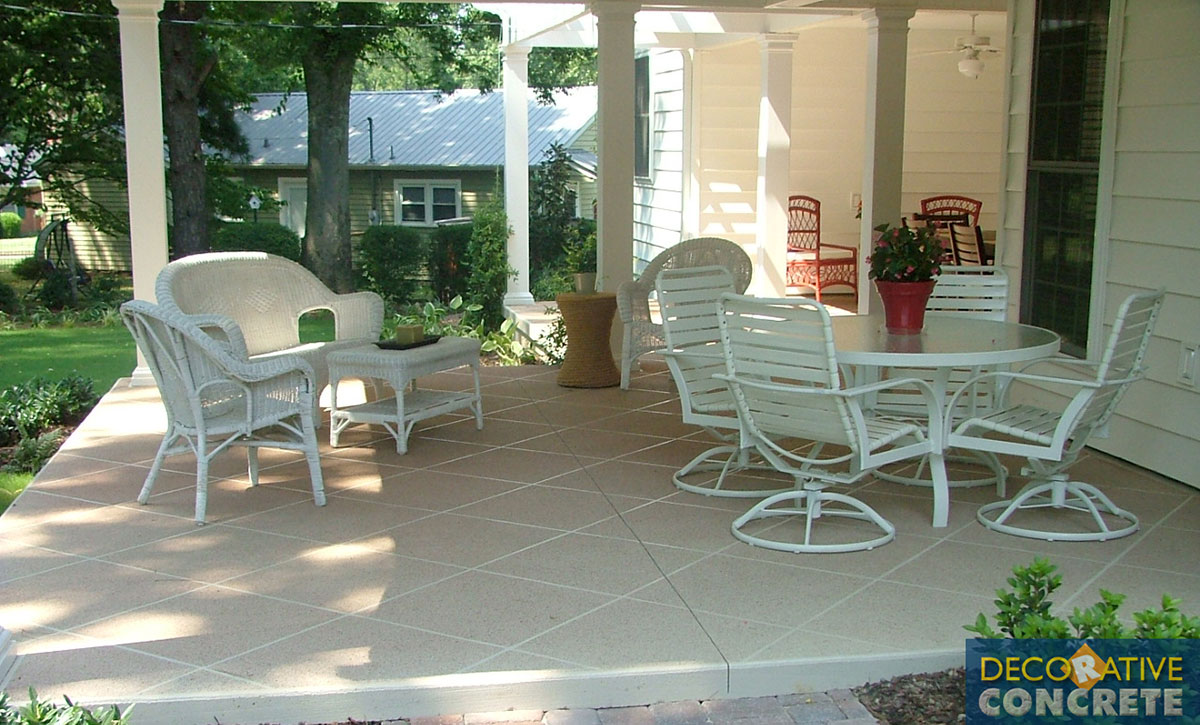 Decorative Paving Company : Residential gallery decorative concrete inc