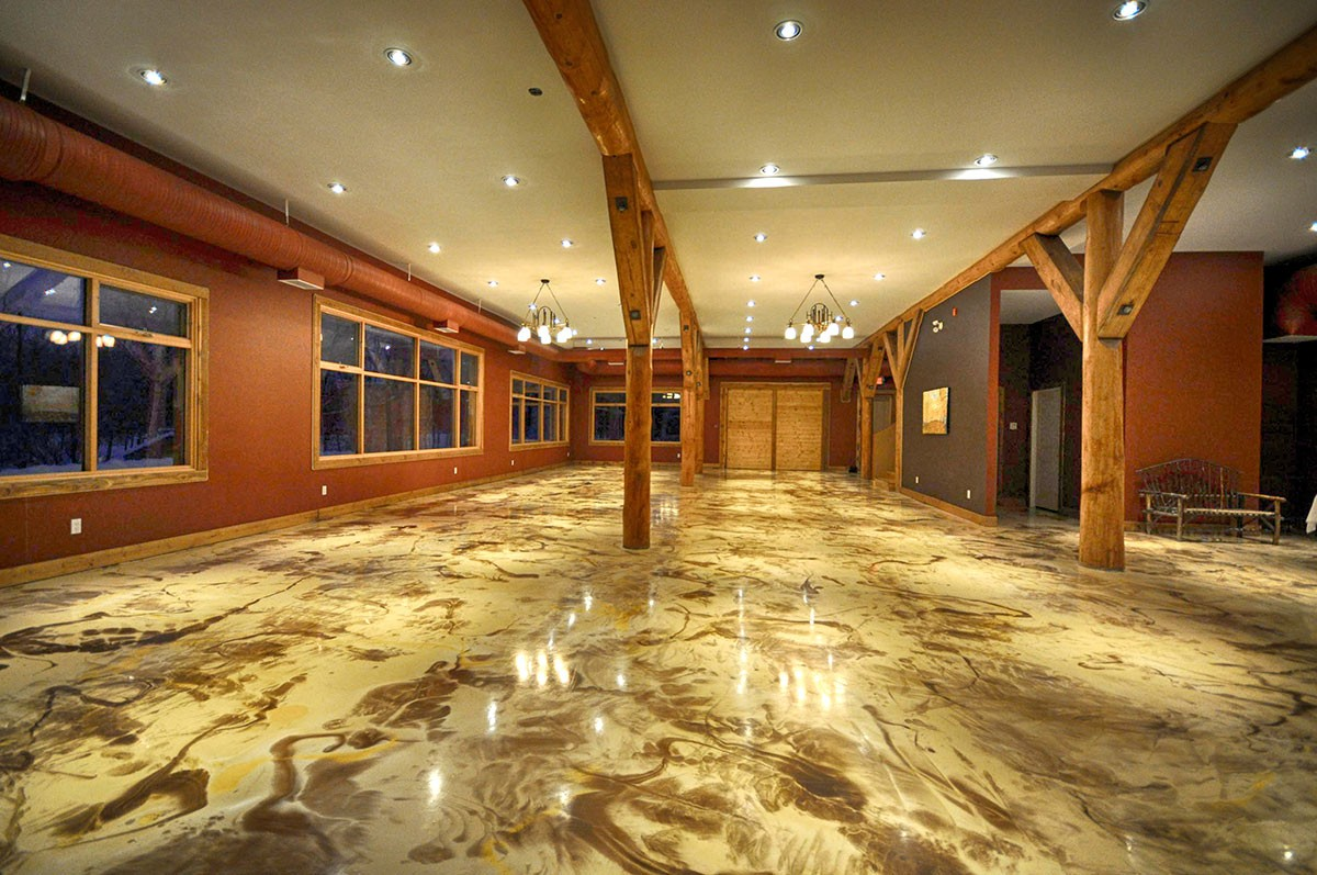 Home decorative concrete inc for Residential flooring