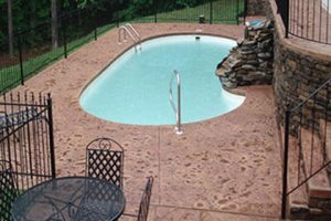 Stamped Pool Deck after2W