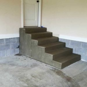 DC-fresh-poured-garage-steps-5