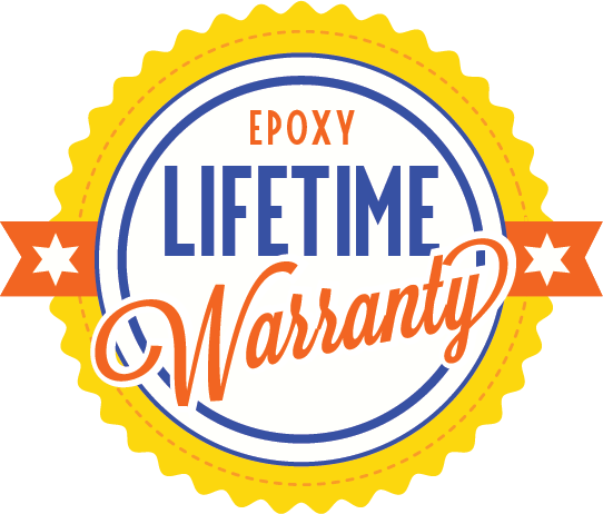DC epoxy lifetime warranty seal